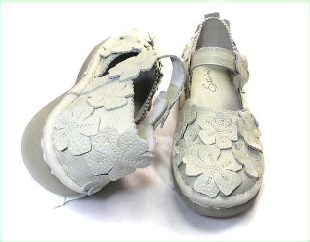 エスタシオン靴 estacion  et78iv アイボリー パーツの画像