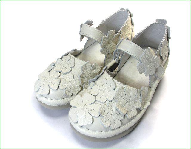 エスタシオン靴 estacion  et78iv アイボリー 全体の画像