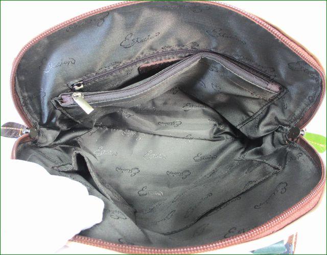 estacion bag エスタシオン バッグ etb9178mt マルチ 鞄の中の様子