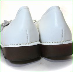 エスタシオン靴  estacion etn13681iv アイボリー ソールの画像