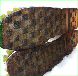 エスタシオン靴  estacion etn13682iv アイボリー カカトの画像