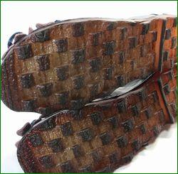 エスタシオン靴  estacion etn13682nv ネイビー カカトの画像
