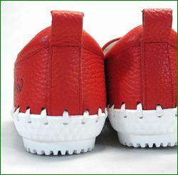 エスタシオン靴  estacion etn216re レッド カカトの画像