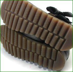 エスタシオン靴  estacion etn237813bl ブラック  カカトの画像