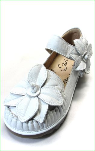 エスタシオン靴  estacion etn237813iv アイボリー 左靴の画像