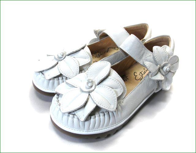 エスタシオン靴  estacion etn237813iv アイボリー 全体画像