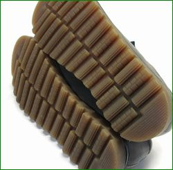 エスタシオン靴  estacion etn237821bl 黒グレイ  カカトの画像