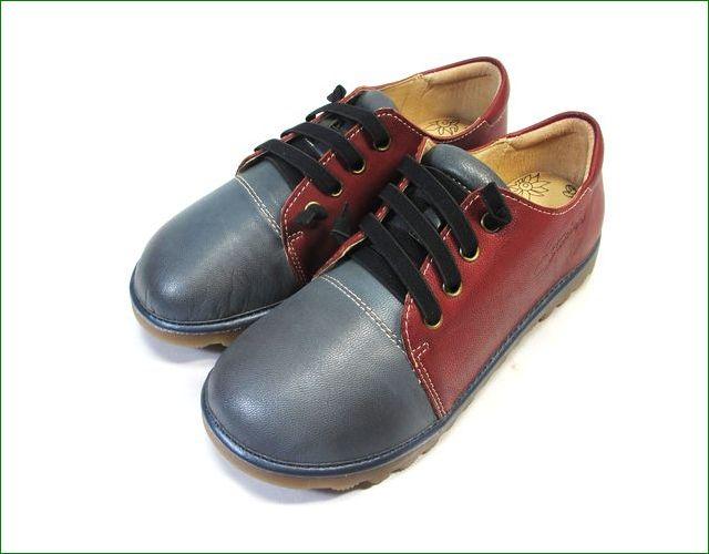 エスタシオン靴  estacion etn237821gy グレイワイン 全体画像