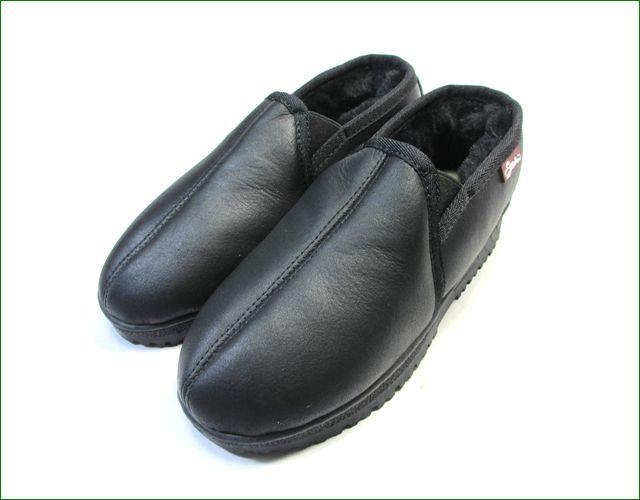 エスタシオン靴  estacion etn808bl 黒 全体画像
