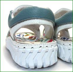 エスタシオン靴  estacion etn901iv アイボリー ソールの画像