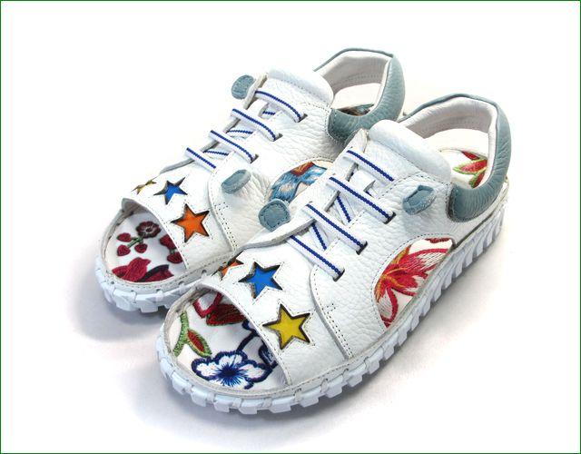 エスタシオン靴  estacion etn901iv アイボリー 全体画像