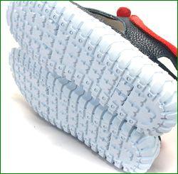 エスタシオン靴  estacion etn901nv ネイビー カカトの画像