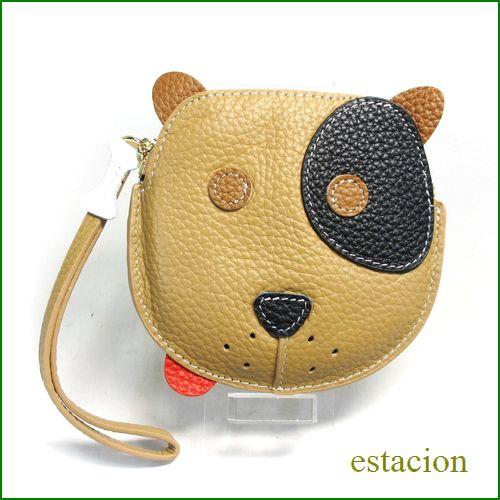 エスタシオン 犬コインケース 全体画像