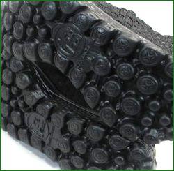 Gomu56  ゴムゴム gm5511bl  ブラック  底の画像