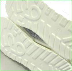Gomu56  ゴムゴム gm5527wt  ホワイト  底の画像